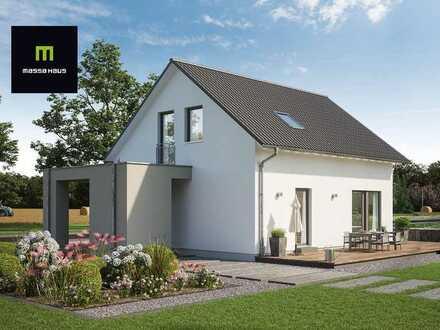 Traumhaus für Sie - jetzt mit massahaus bauen + KfW 55 Förderung + Aktionen nutzen