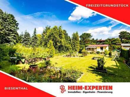Kleiner Bungalow mit sehr gepflegtem Garten in Biesenthal