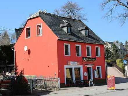 Wohn- und Geschäftshaus - tlw. vermietet
