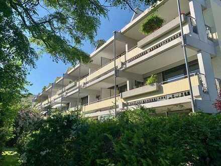 Erstbezug: 2 Zi. Gartenwohnung in grüner Umgebung der Villenkolonie von Pasing
