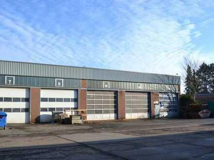 Auf 10.500 qm Gewerbehalle mit Karosserie-Werkstatt*Waschhalle*Büro und EFH!