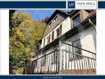 Von Poll Immobilien Sanierungsbedürftige Villa in sonniger Bestlage Neckargemünd