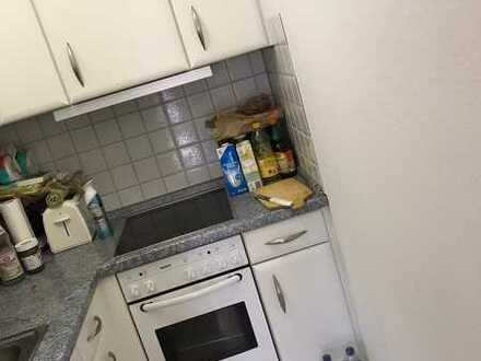 Stilvolle, gepflegte 1-Zimmer-Wohnung mit Balkon und EBK in Obertal