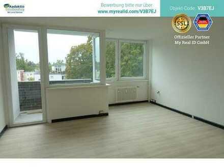 Wunderbare 1-Zimmer-Wohng., frisch renoviert, mit Balkon, EBK und nahem S-Bahn-Anschluss