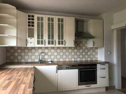 Erdgeschosswohnung mit abgtrenntem 250 qm Gartenanteil und Balkon- ideal für kleine Familie