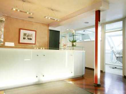 Wohnen u. Arbeiten in der Schwelmer City | Büro-/ Praxisräume + Wohnung in der Fußgängerzone