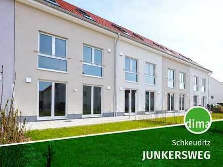 ERSTBEZUG | NEUBAU-REIHENHAUS | Garten, Terrasse, Stellplatz, Fußbodenheizung, 3 Etagen