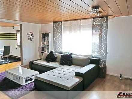 Zentrumsnah: Ansprechende 3-Zimmer-Wohnung mit Garage und Sitzplatz / kl. Gartenteil