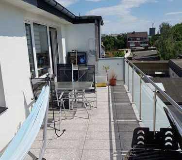 Moderne 4 Zi.-Wohnung (ca. 120 m²) mit sonniger Dachterrasse