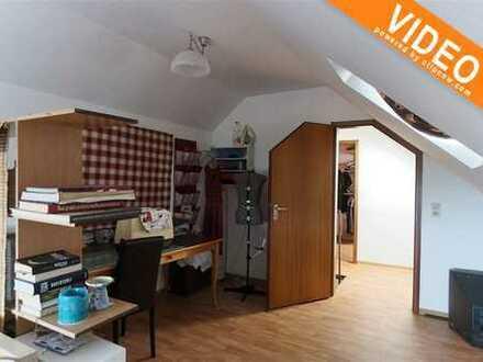 Provisionsfrei! Vermietete Dachgeschosswohnung mit Garage und Ausblick ins Grüne