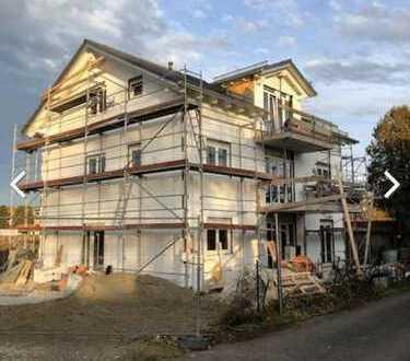 Hochwertige niedrigenergie Neubauwohnung mit Terrasse/ Garten: 3-Zimmer in zentraler Ruhelage