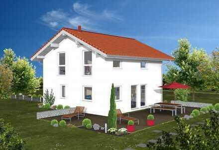 AKTION Schönes Einfamilienhaus, in bewährter Fertighausqualität KFW 55