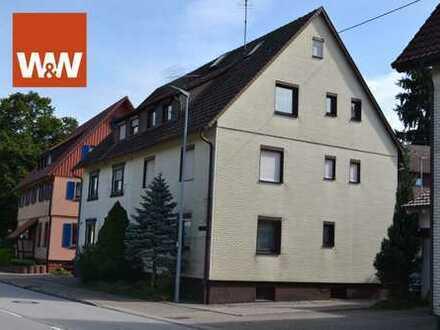 Kleine Eigentumswohnung im Erdgeschoss - sanierungsbedürftig -