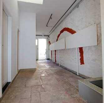Ein Vorzeigeobjekt für: Atelier, Ausstellungsfläche, Galerie oder Büro
