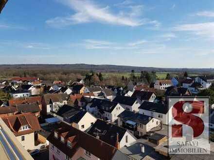 Einzigartige 4 ZW im Zentrum von Langenselbold!  Beste Wohnung im Haus! Die Aussicht phänomenal!