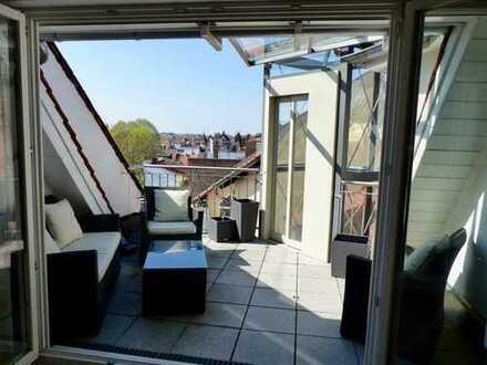 Exklusive, neuwertige 3,5-Zimmer-Dachgeschosswohnung mit Dachterrasse in Heidelberg Neuenheim