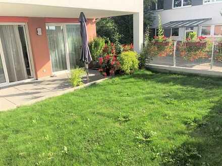 sonnige 3 Zimmer-Wohnung mit Garten in ruhiger Lage