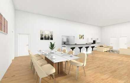 Neue Traum-Loft-Wohnung mit Süd-Terrasse: noch individuell ausbaubar
