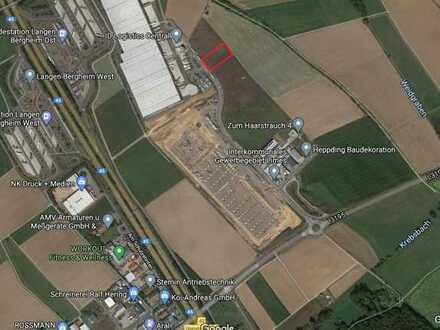 Voll erschlossenes Gewerbegrundstück in Autobahnnähe mit 3.500m² Fläche zu verkaufen