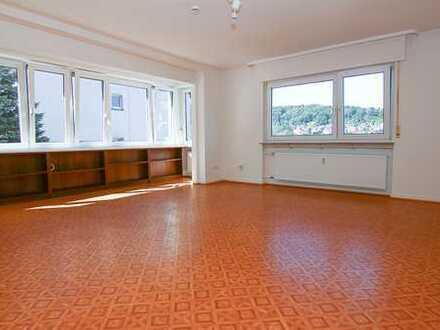 Gepflegte 4-Raum-Erdgeschosswohnung mit Balkon in Bad Orb