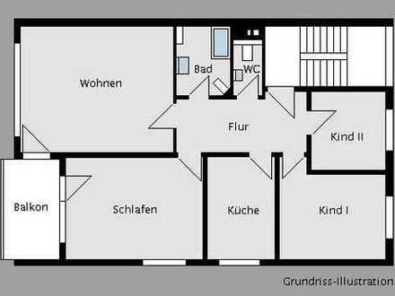 4-Zimmer-Eigentumswohnung in kleiner Einheit und absolut ruhiger Wohnlage!