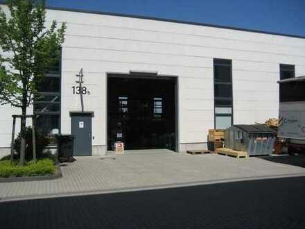 Troisdorf-Oberlar!Neubauhalle mit Büro,Lager,Rolltor,Heizung,Freifläche/Stellplätzen, Autobahnnähe!