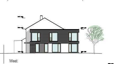 PROVISIONFREI !!! Tolles Süd - Grundstück mit Baugenehmigung für ein Reiheneckhaus in Haunstetten