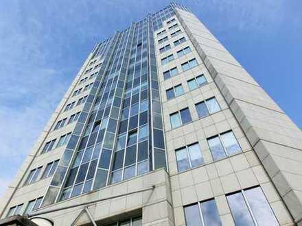 Büro mit Ausblick im Halle Tower!