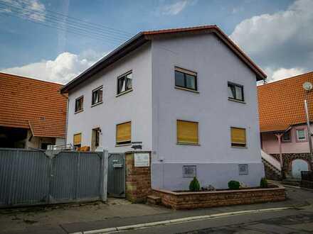 Geräumige Obergeschosswohnung mit Loggia und Garage ab sofort zu vermieten, Kaufoption vorhanden!