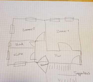 Bild_Schöne, geräumige, helle zwei Zimmer Wohnung in Frankfurt (Oder), Nuhnenvorstadt (West) mit EBK