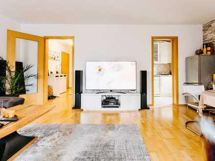 Reserviert ! Großzügige Wohnung mit Terrasse, Garten und 2 Tiefgargenstellplätzen zu verkaufen !