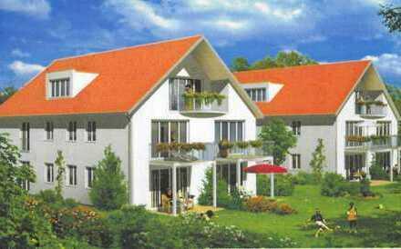 Helle, neuwertige 2-Zimmer-Wohnung mit grossem Süd-Balkon und Einbauküche in Ingolstadt