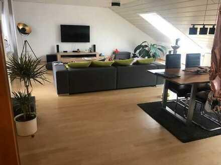 5-Zimmer-Penthouse-Wohnung mit Dachterrasse und Einbauküche in Speyer