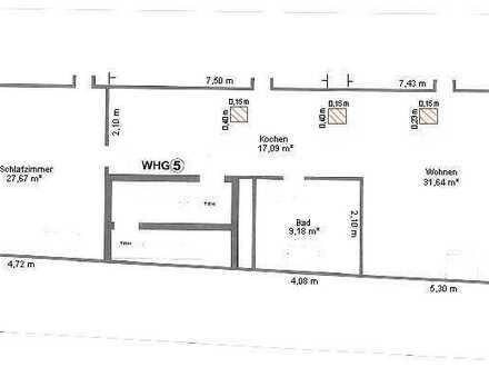 Große 2-Zimmer-Wohnung in Heidelsheim
