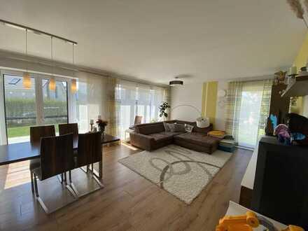 Möblierte und neuwertige 4-Zimmer Wohnung mit Garten in Altenmünster
