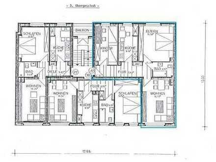 Helle, freundliche & renovierte 3-Zimmer Wohnung
