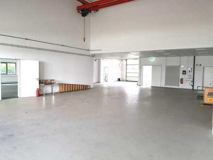 Hallen- und Büroräumlichkeiten zu vermieten in Kirrlach im Gewerbegebiet