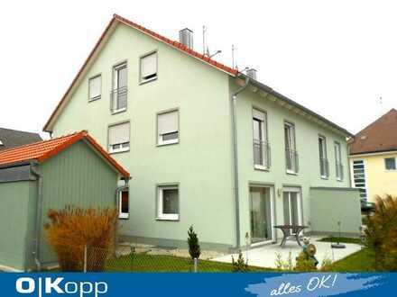 ....da will ich wohnen! Neuwertige Doppelhaushälfte in Allershausen!