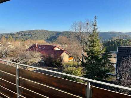 Sonnige und großzügige 3,5 Zi. Wohnung mit Balkon in Furtwangen ca. 100 m² ab sofort frei
