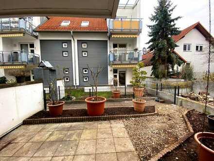 Deine neue Wohlfühloase? 2-Zimmer, Terrasse, Einbauküche und Gartenabteil