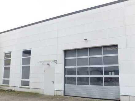 Rösrath-Neubau! Individuelle Gewerbehalle mit Büro- und Sozialräumen, zwei Rolltoren, Heizung!