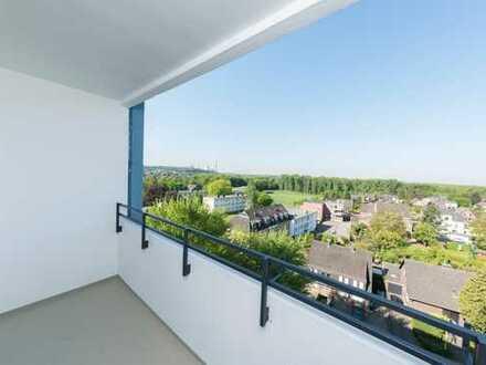 Mit Weitblick - Top sanierte 3-Zimmer-Wohnung mit Balkon - Turmhäuser Grevenbroich