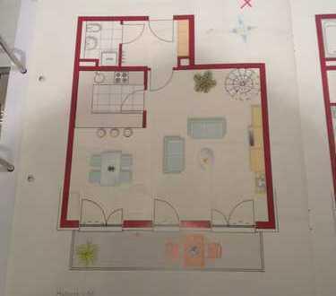 Freundliche 3-Zimmer-Maisonette-Wohnung mit Einbauküche und Balkon in Untermenzing, München
