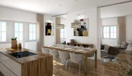 Außergewöhnliche 3 Zi-Wohnung mit Parkplatz, 70% Denkmal- Abschreibungen und Kfw-Zuschuss