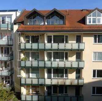 Schöne 3-Zimmer-Innenhof-Wohnung im Zentrum von München, nahe Stachus, zur Kapitalanlage