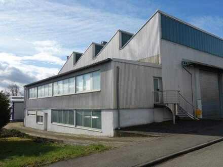 Ihr attraktives Gewerbe! Lager/- Produktionshalle mit Büro & pfiffiger Paußenbereich!