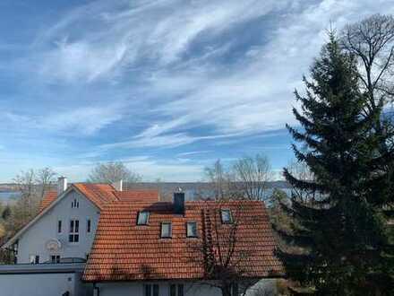 Provisionsfrei! Ansprechende 3-Zimmer-Wohnung mit Balkon und Einbauküche in Utting am Ammersee