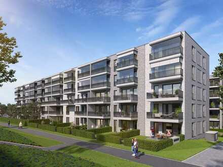 PANDION 5 FREUNDE Haus C - Großzügige 4-Zimmer-Wohnung mit Bad en Suite und Südbalkon