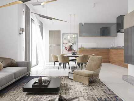 Haus Alchemie - Neubauwohnung mit traumhafter Aussicht in energieeffizienter KfW 40+ Wohnanlage