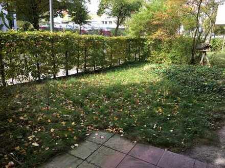 Helle 3-Zimmerwohnung mit Terrasse und Garten